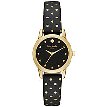 Buy kate spade new york Women's Mini Metro Dots Leather Strap Watch Online at johnlewis.com