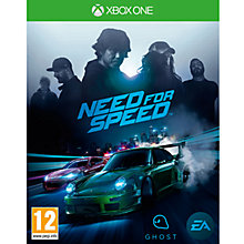 Buy Need For Speed, XBox One Online at johnlewis.com