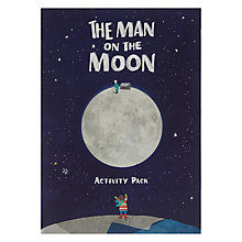 Buy John Lewis Man on the Moon Activity Pack Online at johnlewis.com