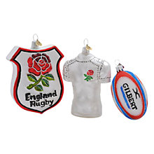 Buy England Rugby Decorations Set Online at johnlewis.com