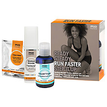 Buy Mio Run Faster Kit Body Care Gift Set Online at johnlewis.com