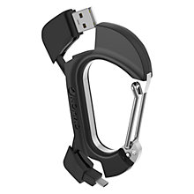 Buy NomadKey Carabiner for Micro USB, Black Online at johnlewis.com