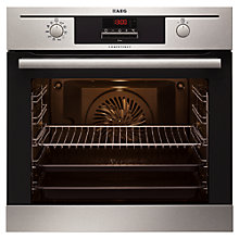 Buy AEG BP500302DM Built-In Multifunction Electric Single Oven, Stainless Steel Online at johnlewis.com