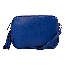 Buy Mango Adjustable Tote Bag, Bright Blue Online at johnlewis.com