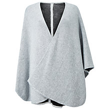 Buy Phase Eight Fearne Reversible Cape, Charcoal Online at johnlewis.com