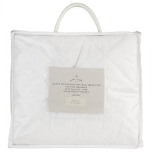 Buy John Lewis Micro Fresh Velour Travel Cot Mattress Protector Online at johnlewis.com