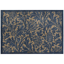 Buy Morris & Co. Thistle Doormat, Blue Online at johnlewis.com