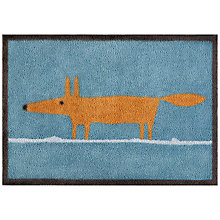 Buy Scion Mr Fox Doormat, Blue Online at johnlewis.com