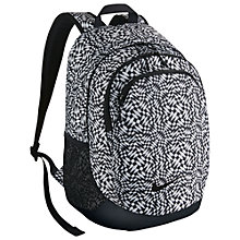 Buy Nike All Access Halfday Backpack, Black/White Online at johnlewis.com