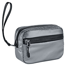 Buy Nike Studio Kit Bag, Metallic Silver, Extra Small Online at johnlewis.com