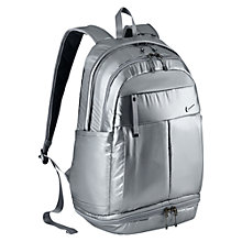 Buy Nike Victory Metallic Rucksack, Metallic Cool Grey Online at johnlewis.com
