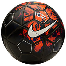 Buy Nike Prestige CR7 Size 5 Football, Lava Glow/Metallic Silver Online at johnlewis.com