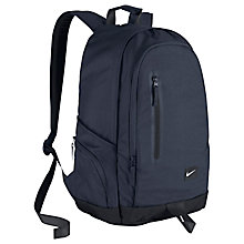 Buy Nike All Access Fullfare Backpack, Navy Online at johnlewis.com