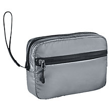Buy Nike Studio Kit Bag, Metallic Silver, Small Online at johnlewis.com