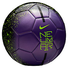 Buy Nike Neymar Prestige Football, Purple Online at johnlewis.com