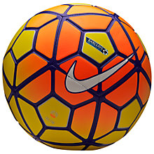 Buy Nike Strike Hi Viz Size 5 Football, Yellow Online at johnlewis.com