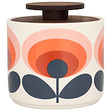Buy Orla Kiely Red Flower Storage Jar, 1L Online at johnlewis.com