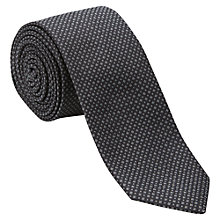Buy Jigsaw Micro Design Silk Tie Online at johnlewis.com