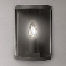 Buy Garden Trading Company Astall Wall Light, Charcoal Online at johnlewis.com