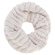 Buy Mint Velvet Powder Stitch Snood, Pale Pink Online at johnlewis.com