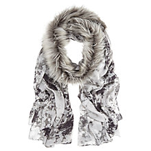 Buy Mint Velvet Anise Faux Fur Scarf, Multi Online at johnlewis.com