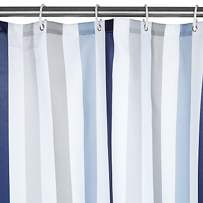 John Lewis Portland Extra Long Shower Curtain