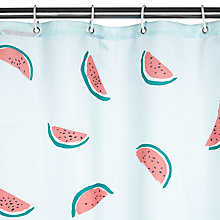 Buy John Lewis Watermelons Shower Curtain Online at johnlewis.com