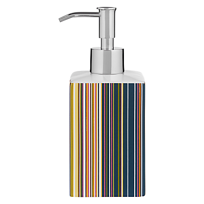 John Lewis Spirit Stripe Soap Pump