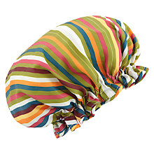 Buy John Lewis Spirit Stripe Shower Cap, Multi Online at johnlewis.com