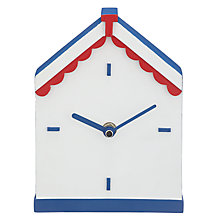 Buy John Lewis Beach Hut Clock Online at johnlewis.com