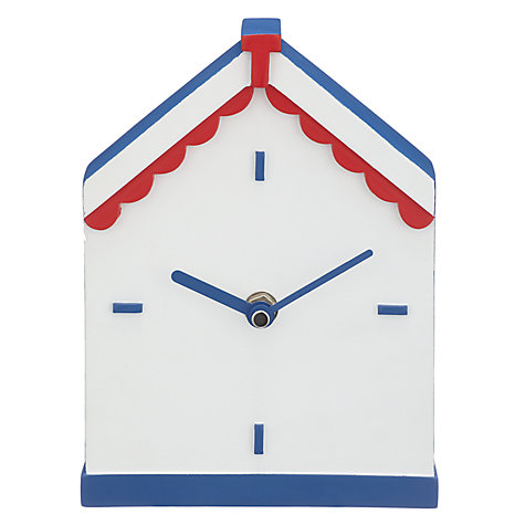 Buy John Lewis Beach Hut Clock Online At Johnlewis