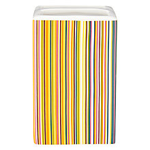 Buy John Lewis Spirit Stripe Toothbrush Holder, Multi Online at johnlewis.com