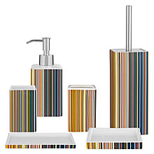 Buy John Lewis Spirit Stripe Bathroom Accessories Online at johnlewis.com