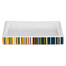 Buy John Lewis Spirit Stripe Soap Dish Online at johnlewis.com
