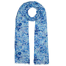 Buy John Lewis Spring Ditsy Scarf, Blue Online at johnlewis.com