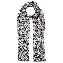 Buy John Lewis Multi Ditsy Scarf, Black/White Online at johnlewis.com