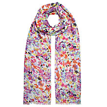 Buy John Lewis Abstract Summer Floral Scarf, Multi Online at johnlewis.com