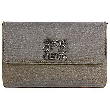 Buy Dune Bree Flapover Embellished Clutch Bag Online at johnlewis.com