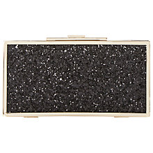 Buy Dune Exquisite Snap Close Box Clutch Bag Online at johnlewis.com