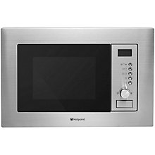 Buy Hotpoint Newstyle MWH122.1X Built-In Microwave, Stainless Steel Online at johnlewis.com