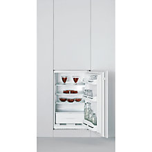 Buy Indesit INS1612UK Under Counter Fridge, A+ Energy Rating, 54cm Wide, White Online at johnlewis.com