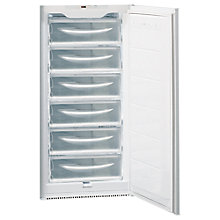 Buy Hotpoint HZ2022.1 Integrated Tall Freezer, A+ Energy Rating, 54cm Wide, White Online at johnlewis.com