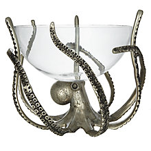 Buy Culinary Concepts Octopus Stand and Glass Bowl Online at johnlewis.com