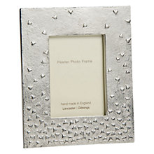 Buy Lancaster and Gibbings Floating Hearts Pewter Photo Frame Online at johnlewis.com