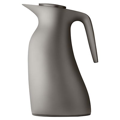 Georg Jensen Beak Thermo Jug, Warm Grey, 1L