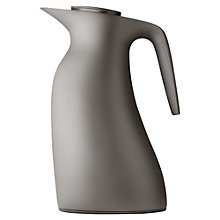 Buy Georg Jensen Beak Thermo Jug, Warm Grey, 1L Online at johnlewis.com