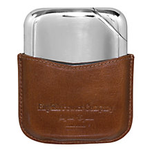 Buy English Pewter Company Novus Hip Flask Online at johnlewis.com