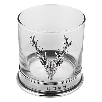English Pewter Company Single Stag Head Tumbler