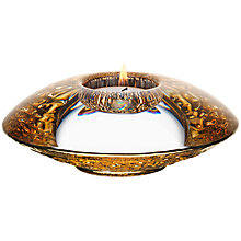 Buy Orrefors Discus Votive Candle Holder Online at johnlewis.com