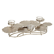 Buy John Lewis La Selva LilyPad Tealight Holder, Small Online at johnlewis.com
